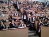 На 22 юни зрелостниците на випуск 2018 на 9. ФЕГ получиха  своите дипломи за средно образование в аулата на ХТМУ. Сн.1