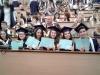 На 22 юни зрелостниците на випуск 2018 на 9. ФЕГ получиха  своите дипломи за средно образование в аулата на ХТМУ. Сн.10.