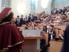 На 22 юни зрелостниците на випуск 2018 на 9. ФЕГ получиха  своите дипломи за средно образование в аулата на ХТМУ. Сн.11.