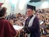 На 22 юни зрелостниците на випуск 2018 на 9. ФЕГ получиха  своите дипломи за средно образование в аулата на ХТМУ. Сн.12.