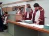 На 22 юни зрелостниците на випуск 2018 на 9. ФЕГ получиха  своите дипломи за средно образование в аулата на ХТМУ. Сн.3.