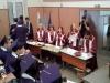 На 22 юни зрелостниците на випуск 2018 на 9. ФЕГ получиха  своите дипломи за средно образование в аулата на ХТМУ. Сн. 5.