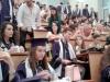 На 22 юни зрелостниците на випуск 2018 на 9. ФЕГ получиха  своите дипломи за средно образование в аулата на ХТМУ. Сн.7.