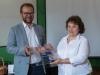 Награждаване на младите европосланици (2)